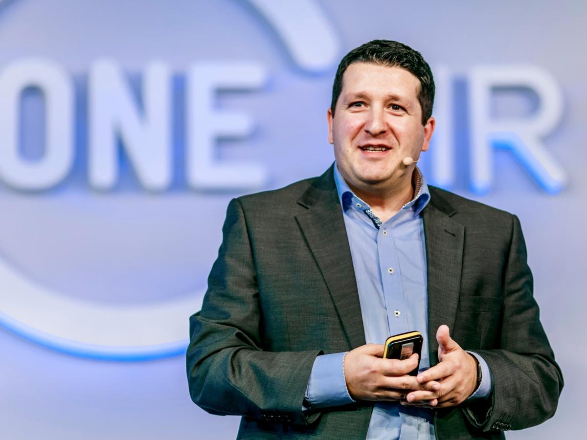 """Keynote auf der Konferenz """"ONE HR"""""""