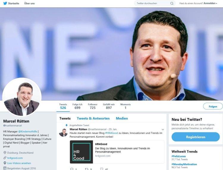 Twitter Profil